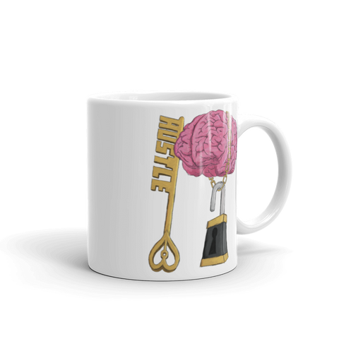 "Hustle Smart ""Unlock your Potential"" Mug - Mytshirtculture"
