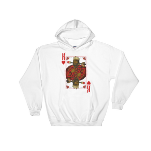 King Of Hearts Black Kings Hoodie Sweatshirt Mytshirtculture