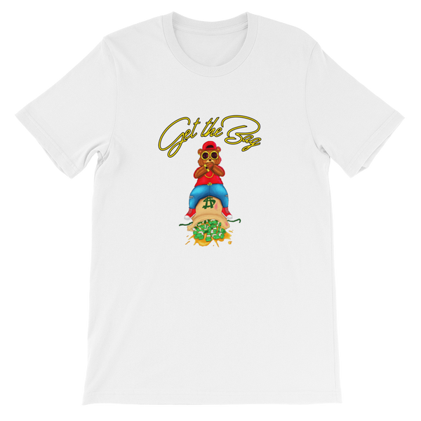 Contemporary Get The Bag Tee ( Gold Text ) - Mytshirtculture