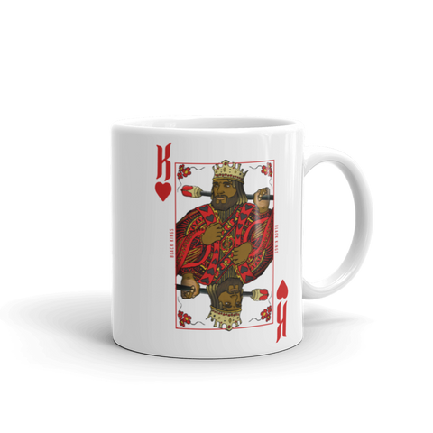 "King of Hearts  ""Black Kings"" Mug - Mytshirtculture"