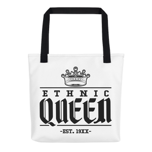 Ethnic Queen Tote bag - Mytshirtculture