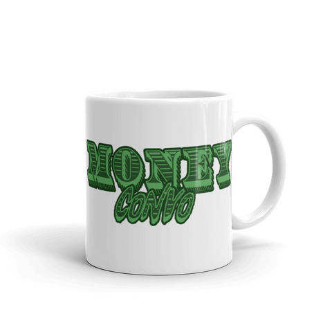 Money Convo Text only Mug - Mytshirtculture