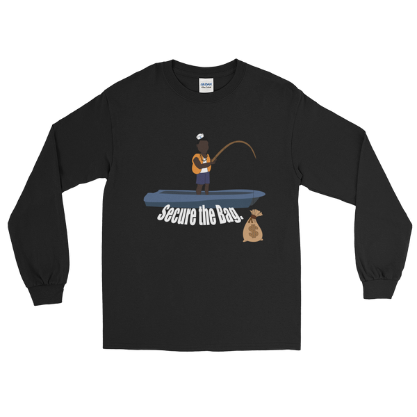 Secure The Bag Desmond The Fisherman Long sleeve - Mytshirtculture