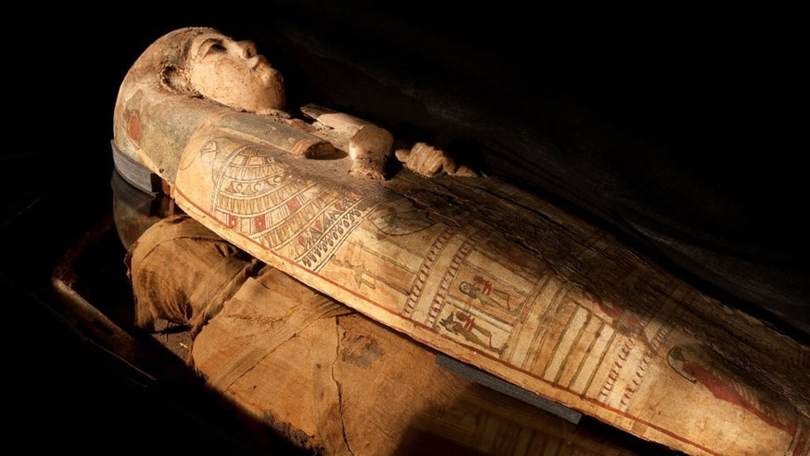 Scholars Just Removed a High-Ranking Mummy From Her Coffin;  to Discover She Was Buried With a Secret Painting
