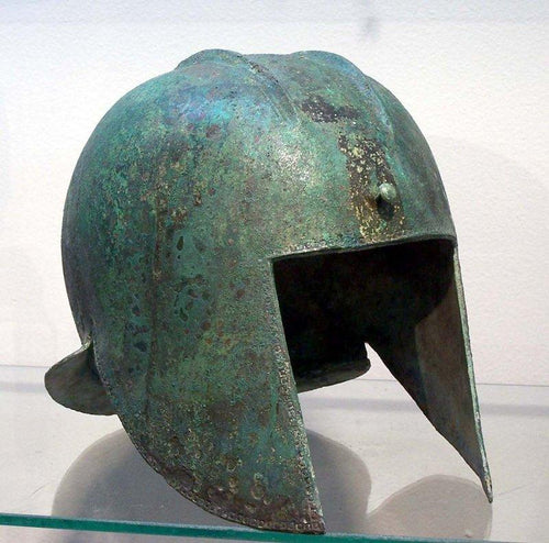 A Greek Illyrian Bronze Helmet, circa 6th Century BC