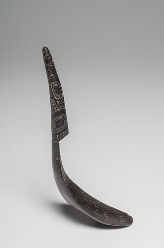 Haida Mountain Goat Horn Spoon - Native American