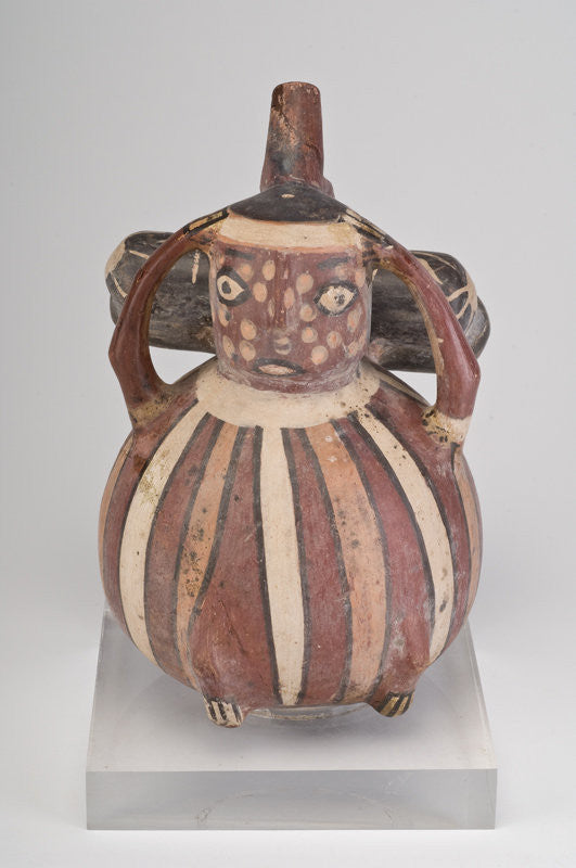Ancient Nazca Anthropomorphic Vessel from Peru - Rare Example
