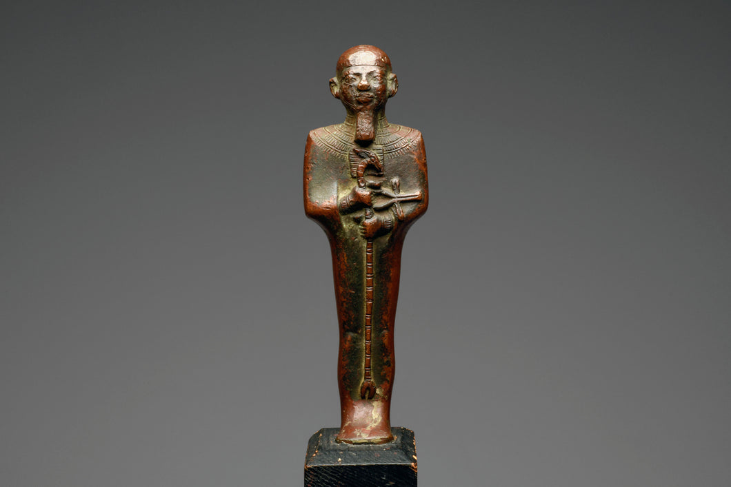 Ancient Egyptian Bronze Figure of Ptah
