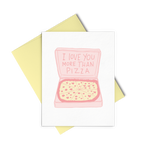 Cute Anniversary Card. Funny Love Card. Illustrated Card. Girlfriend Card Boyfriend Card.
