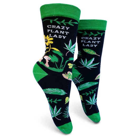 Funny Birthday Gifts For Plant Lover. Mothers Day Gifts For Her. Cute Christmas Gifts. Stocking Stuffers. Crazy Plant Lady socks