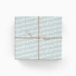 You Better Fucking Like What's Inside Gift Wrap IN282