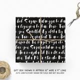 I Love You 100 Languages Gift Wrap IN286