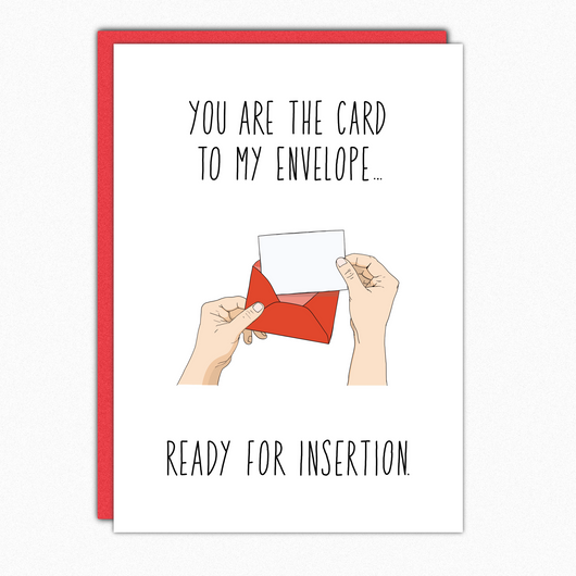 Sexy Card. Naughty Card. Dirty Cards. Kinky Card. Card For Boyfriend. For Husband. Boyfriend Card. Card For Him.  Santa Clarita Gifts Valencia Nutshell Cards