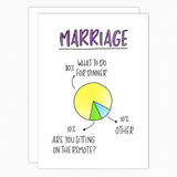 funny anniversary card marriage what to do for dinner