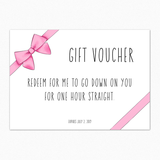 Expired Gift Voucher IN455