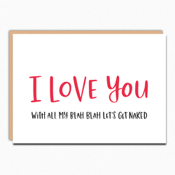 I Love You With All My Blah Blah IN217