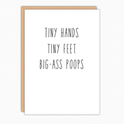Tiny Hands Tiny Feet Big Ass Poops IN304