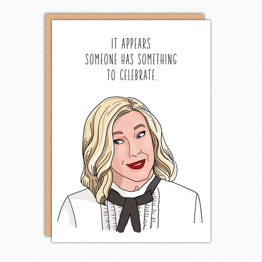 Schitts Creek Gift. Funny Schitt's Creek Birthday Card Congrats Card. Moira Rose