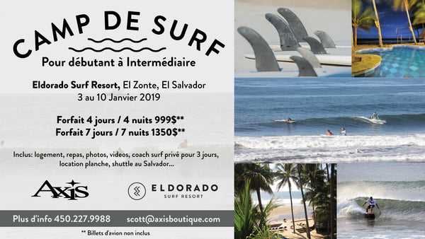 Camps De Surf AXIS X El Dorado