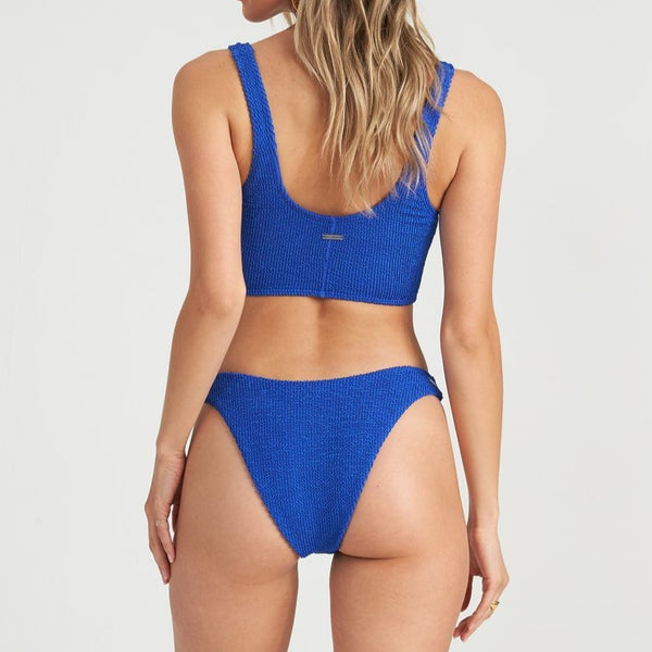 BILLABONG SUMMER HIGH HIKE BIKINI BOTTOM SAPPHIRE BLUE