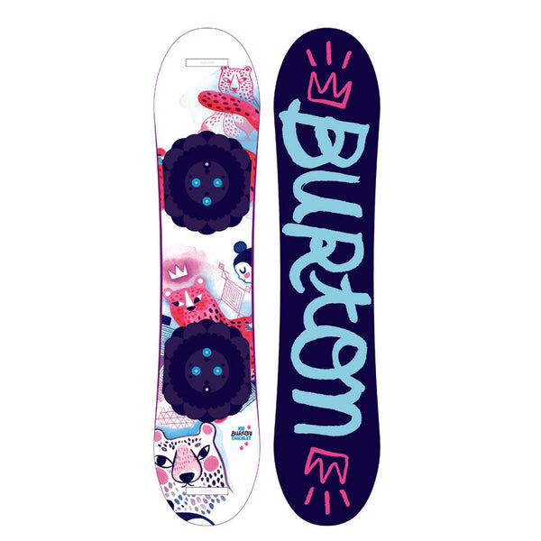BURTON GIRLS CHICKLET 2021 SNOWBOARD