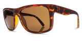 ELECTRIC SWINGARM SUNGLASSES MATTE TORTOISE / BRONZE