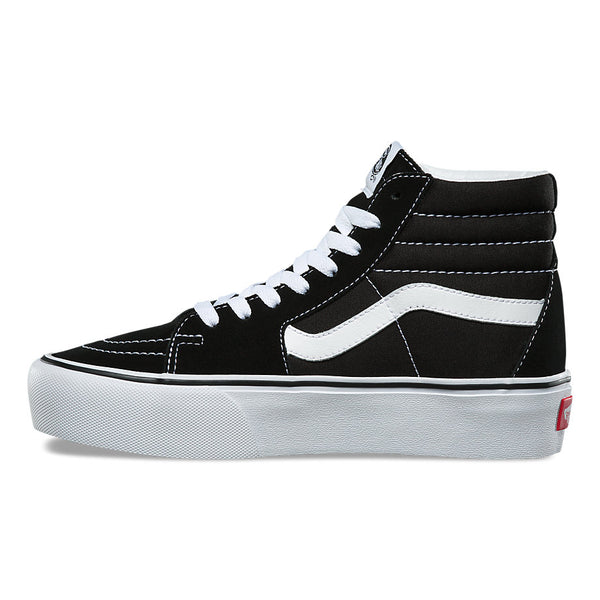 VANS SK8-HI PLATFORM 2.0 BLACK / TRUE WHITE