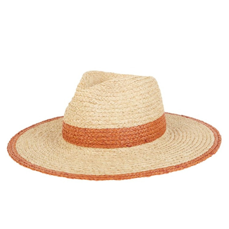 Billabong Womens State Of Mind Straw Hat Henna
