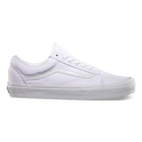 VANS OLD SKOOL SHOES TRUE WHITE