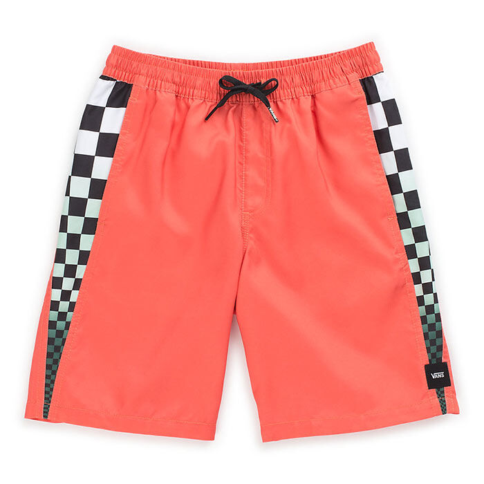 "VANS MENS V PANEL 17"" VOLLEYBALL SHORT VANS EMBERGLOW"
