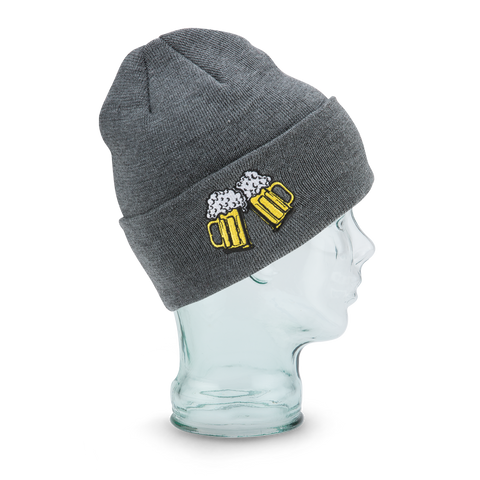 COAL THE CRAVE BEANIE CHARCOAL / BEER