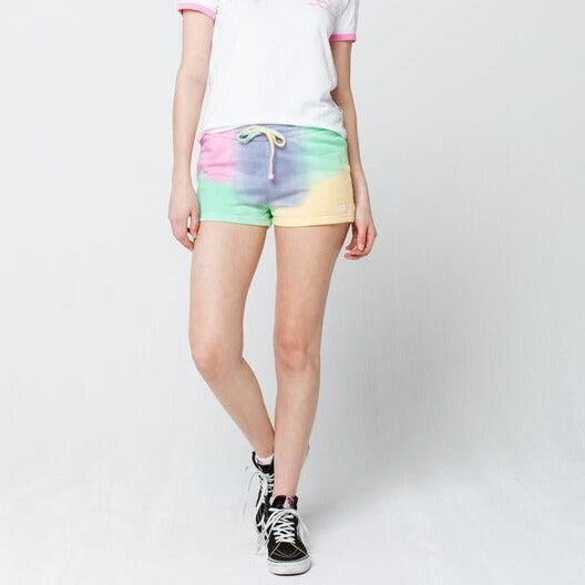 VANS WOMENS AURA FLEECE SHORT AURA WASH