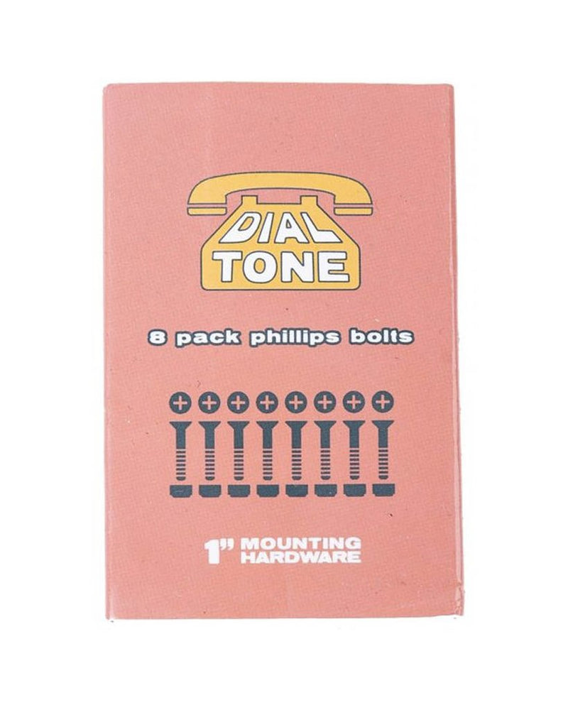 "DIAL TONE HARDWARE MATCHBOOK BOLTS  1"" PHILLIPS"
