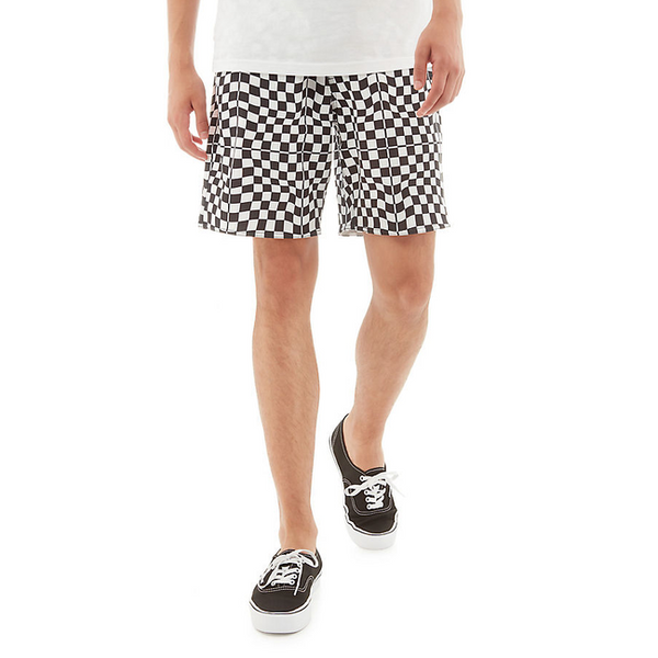 "VANS MIXED 18"" BOARDSHORT WARP CHECK"
