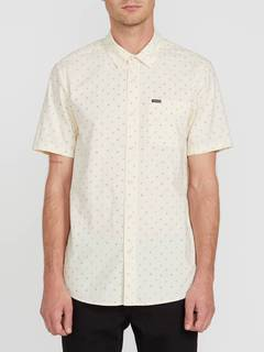 Volcom Mark Mix S/S Shirt White Flash