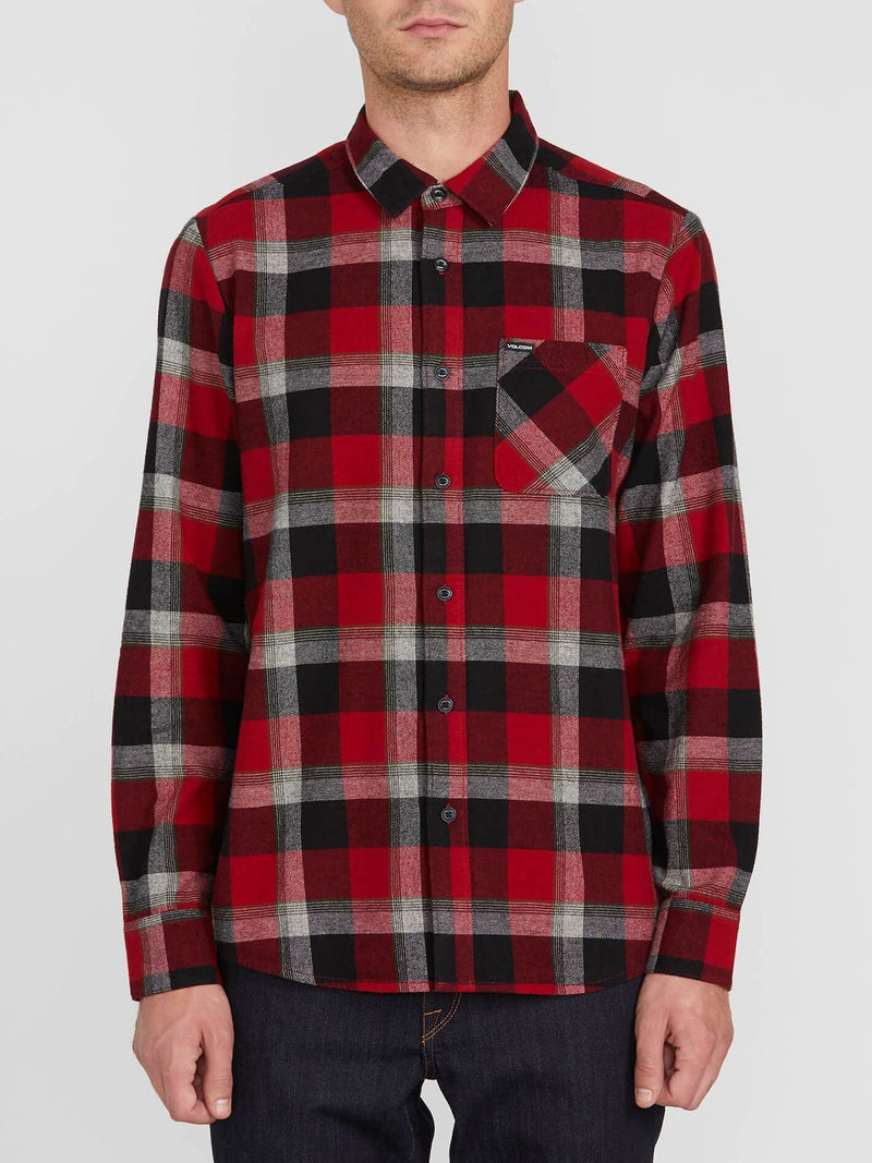 Volcom Caden Plaid L/S Shirt