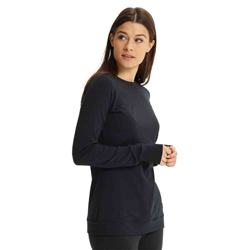 BURTON WOMENS 2021 MIDWEIGHT BASE LAYER CREW TOP