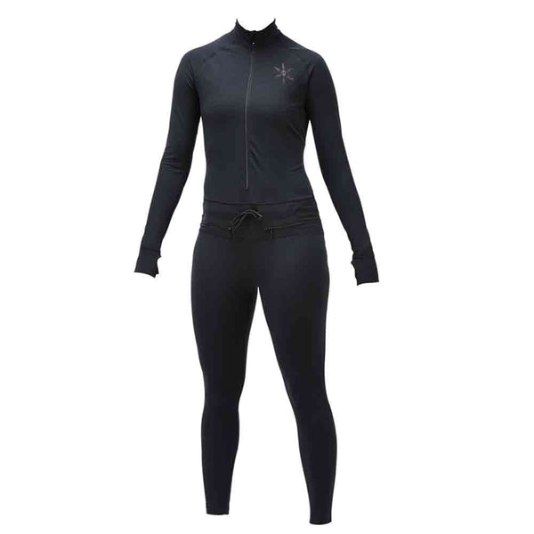AIRBLASTER WOMENS HOODLESS NINJA SUIT BLACK