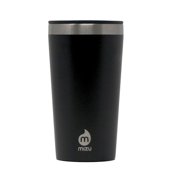 MIZU INSULATED TUMBLER 16 W/ SIP LID BLACK