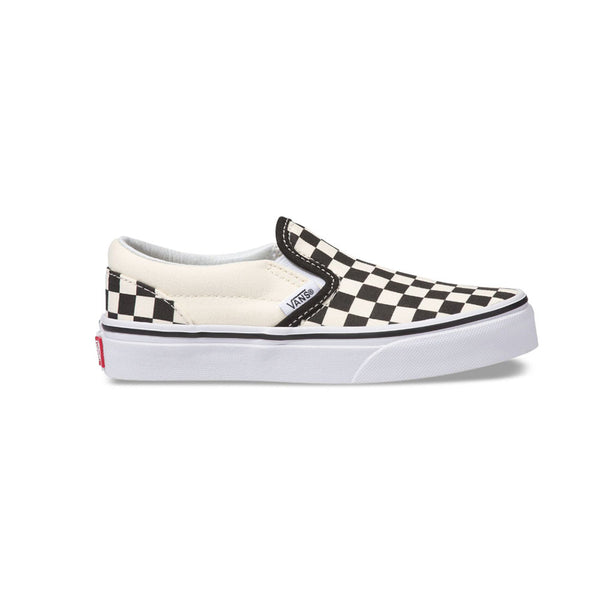 Vans Toddler/Youth Classic Slip-On Shoes Checkerboard