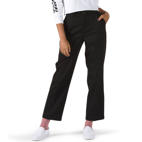 VANS WOMENS AUTHENTIC CHINO PANT BLACK