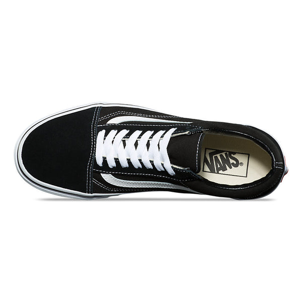 VANS OLD SKOOL SUEDE SHOES BLACK/WHITE