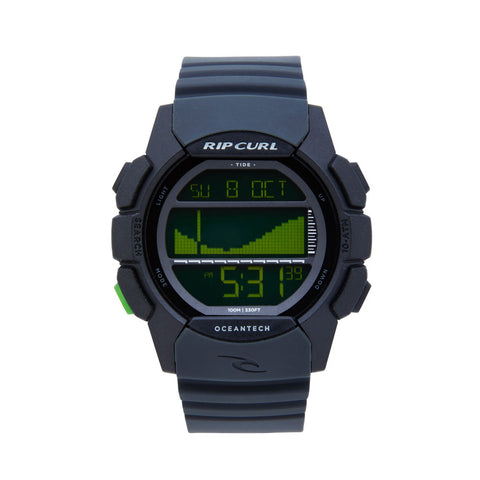 RIPCURL DRIFTER TIDE WATCH BLACK / GREEN