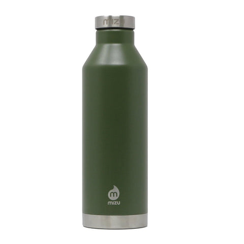 MIZU V8 26 OZ INSULATED BOTTLE ARMY GREEN