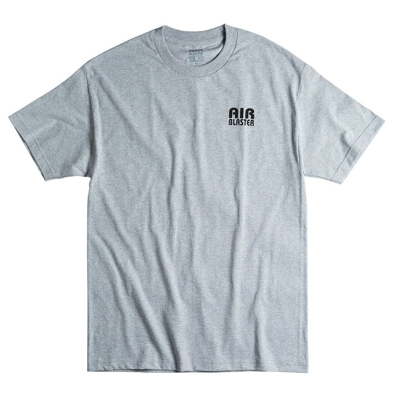 Airblaster 2020 Team S/S Tee Heather Grey