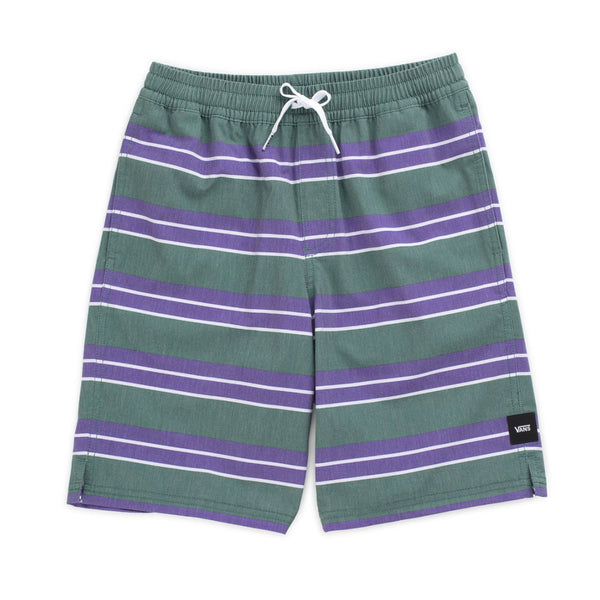 VANS BOYS BACK PATIO VOLLEY SHORT MALLARD / VANS PURPLE
