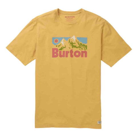BURTON MENS FRISTON S/S T-SHIRT OCHRE