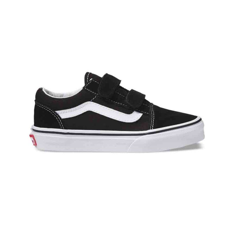 Vans Youth Old Skool V Shoes Black / True White