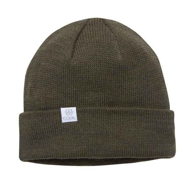 COAL THE FLT W20 RECYCLED POLYANA BEANIE OLIVE