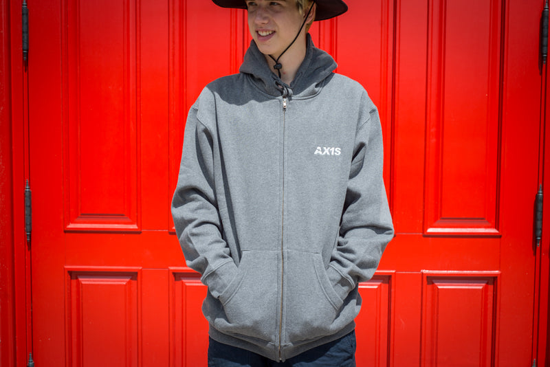 AXIS AX1S SINCE 2002 ZIP HOOD